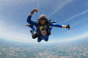 My one and only skydiving experience