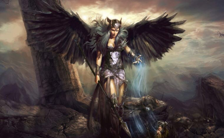 Celtic Warrior Woman